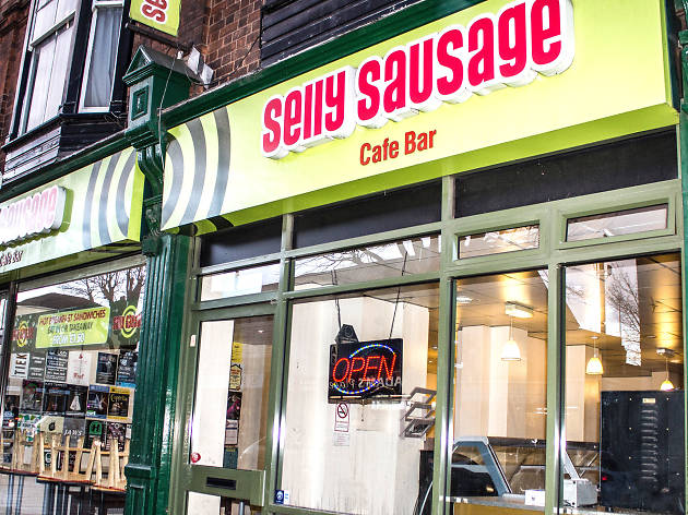 selly sausage, brunch, cafe
