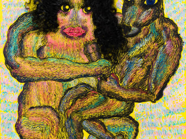 (Bjarne Melgaard avec Bob Recine, 'Untitled', 2015 / Courtesy de l'artiste et galerie Thaddaeus Ropac)