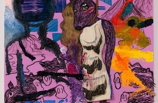 (Bjarne Melgaard avec Bob Recine et Andre Walker, 'Untitled', 2015 / Courtesy de l'artiste et galerie Thaddaeus Ropac)