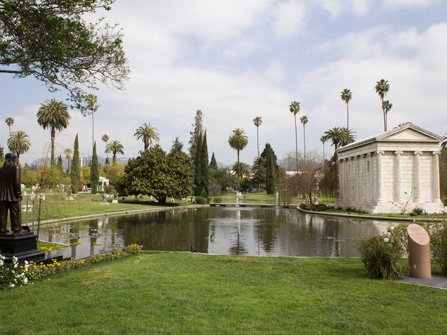 Hollywood Forever Cemetery.
