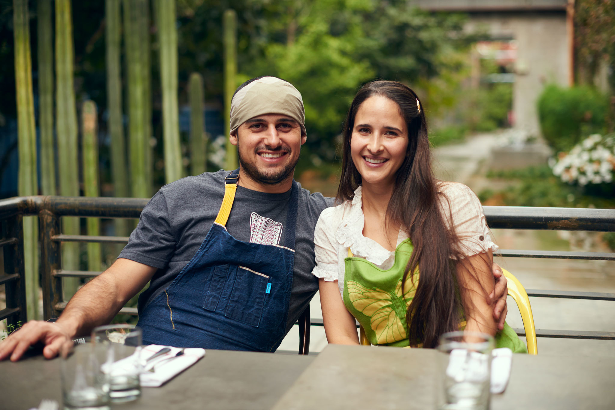 Ori Menashe and Genevieve Gergis of Bestia