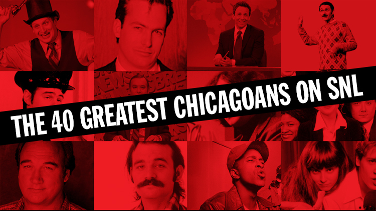 The 40 greatest Chicagoans on SNL