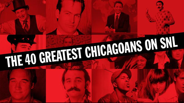 The 40 greatest Chicagoans on SNL