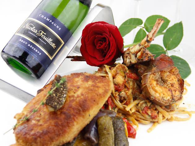 Spasso Milano Valentine's Day menu