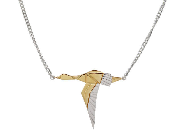 Goose necklace
