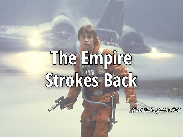 sexy movie titles, The Empire Strokes Back