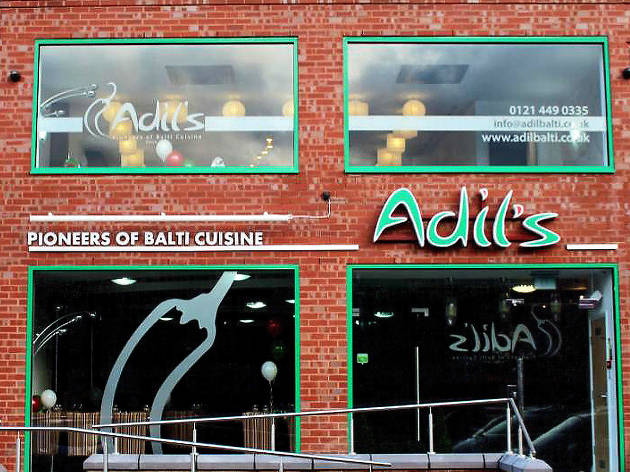 Adil Balti, indian restaurant