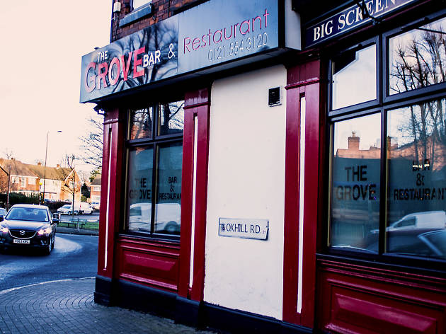 The Grove, indian restaurant