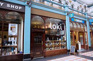 Loki Wine, bar