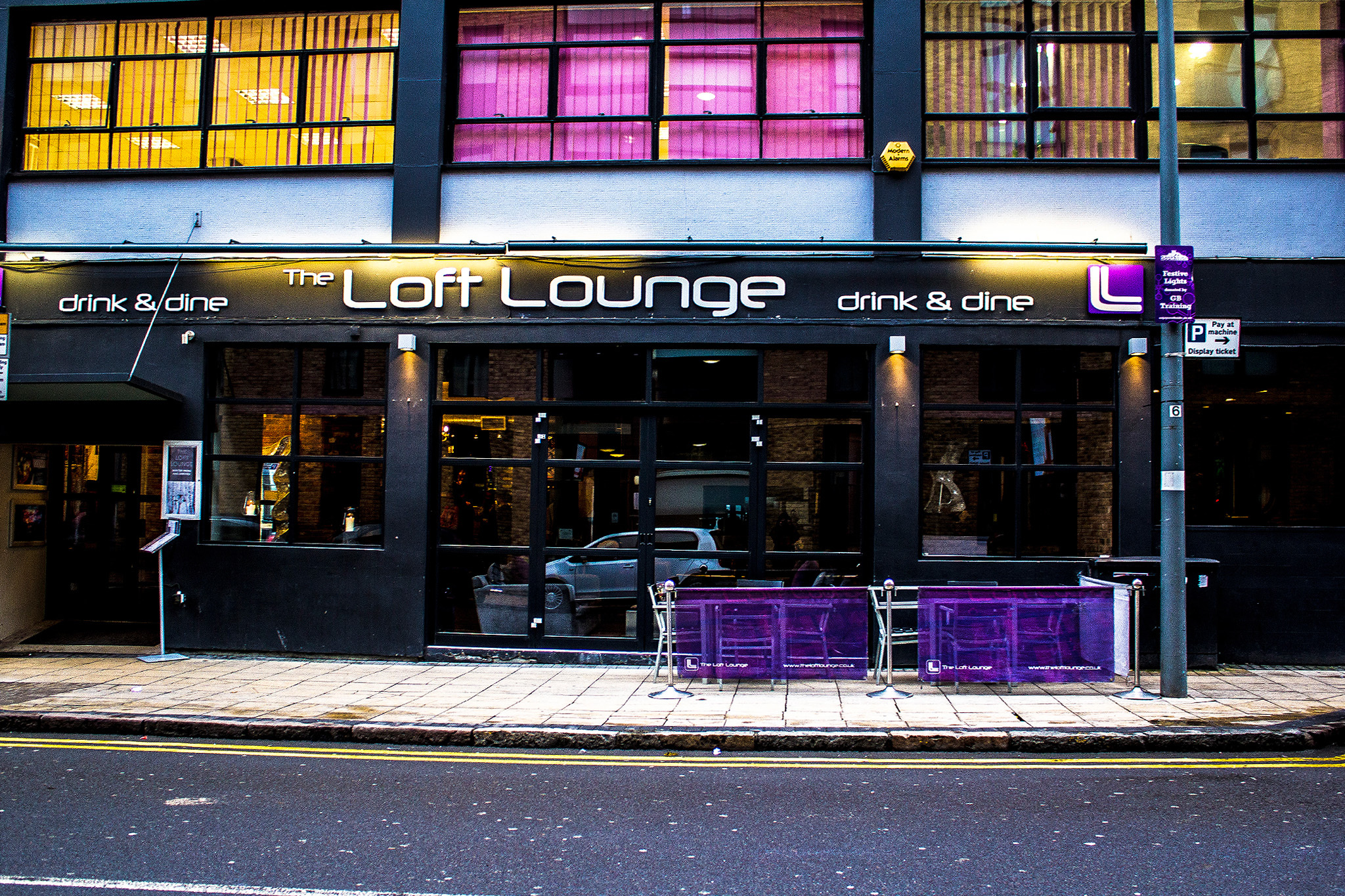 The Loft Lounge, bar