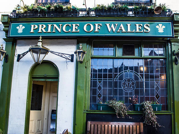 Prince of Wales, bar