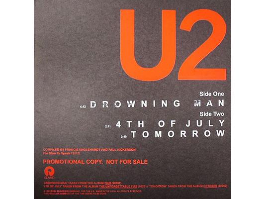 """Drowning Man"" by U2"