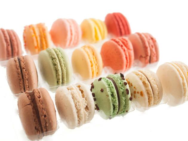 Macarons at Sugar Fix Pasticcerie