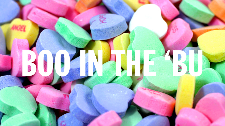 la candy hearts, boo in the 'bu