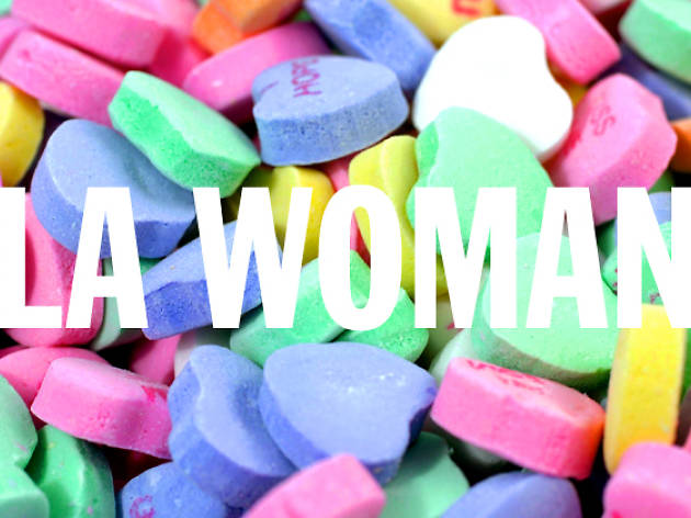 la candy hearts, la woman