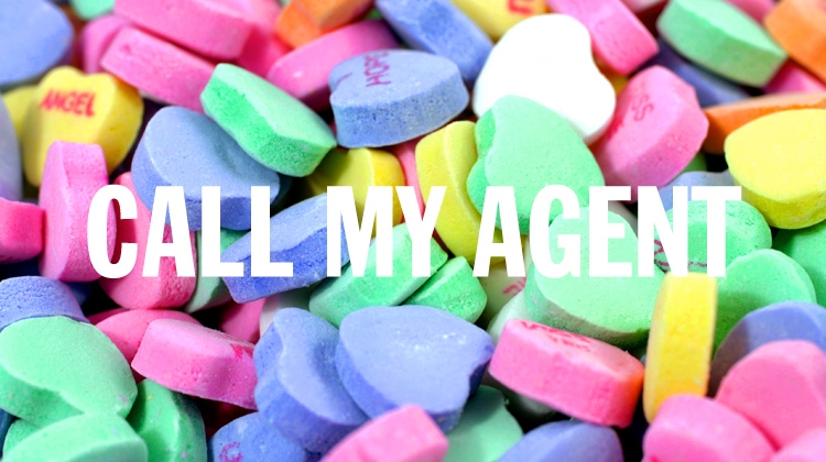 la candy hearts, call my agent