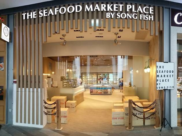 The Seafood Market Place by Song Fish