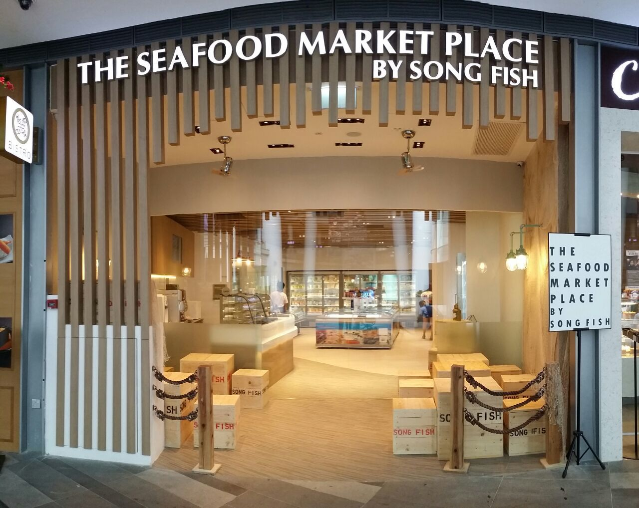 The seafood market place by song fish shopping in buona for Phil s fish market eatery