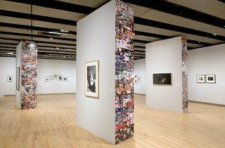(View of Hannah Starkey's display. Photo: Linda Nylind)