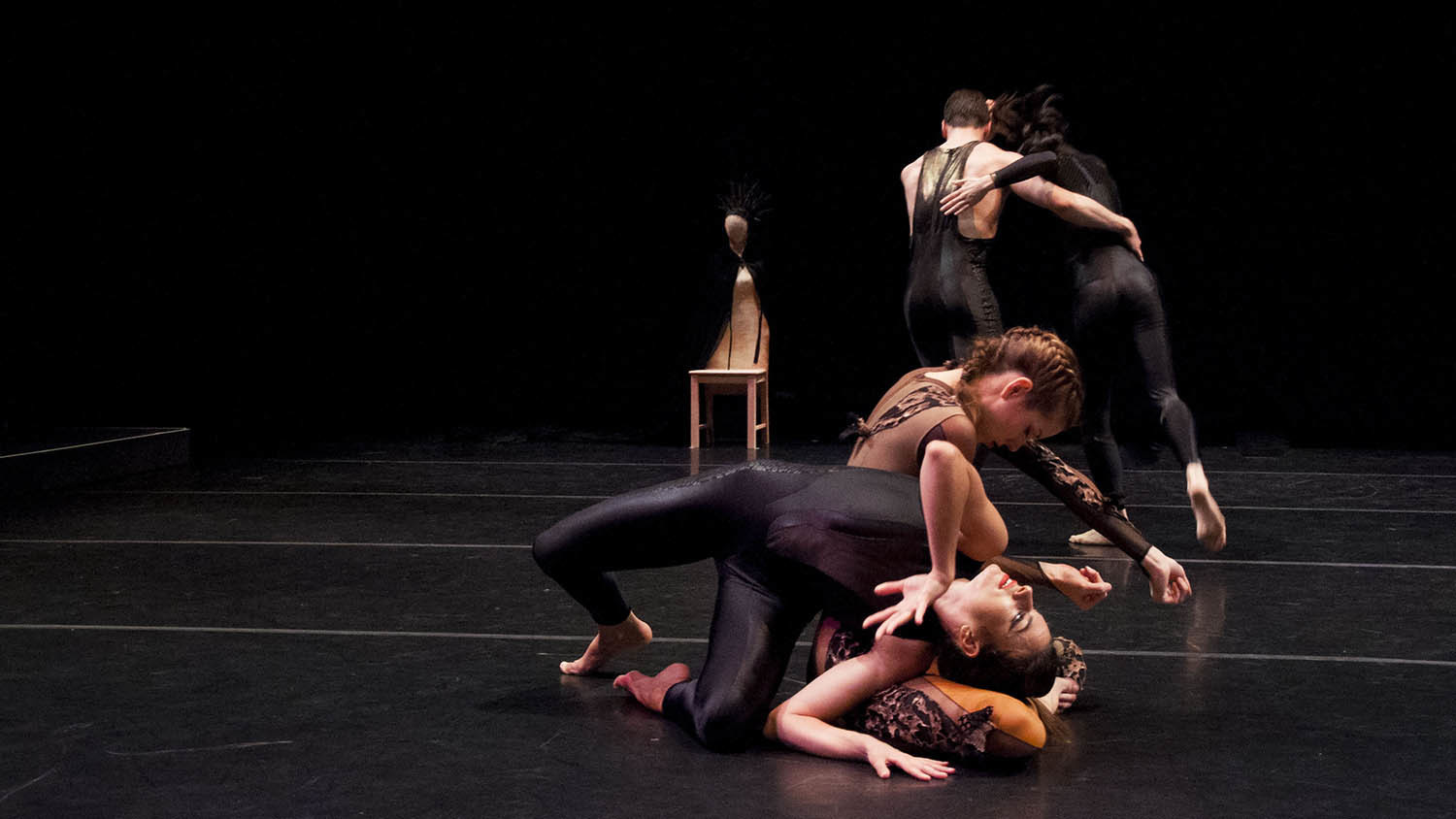 Douglas Dunn & Dancers at the BAM Fisher (slide show)