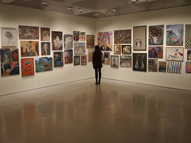 (Installation of 'Magnificent Obsessions: The Artist as Collector' at Barbican Art Gallery. © Peter MacDiarmid / Getty Images)