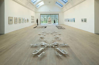 Central Exhibition Gallery Cornelia Parker's exhibition The Whitworth