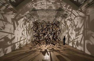 Cornelia Parker's Cold Dark Matter The Whitworth