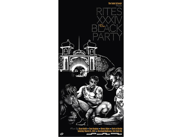Black Party Poster, 2013