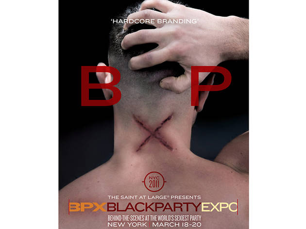 Black Party Expo Poster, 2011