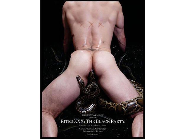 Black Party Poster, 2009