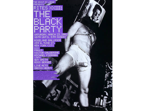 Black Party Poster, 2002