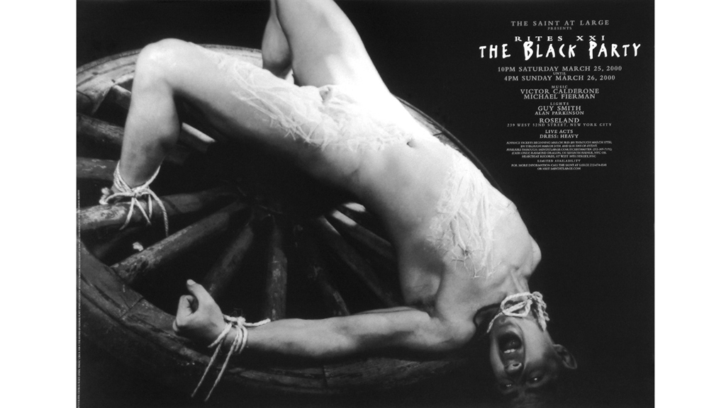 Black Party Poster, 2000