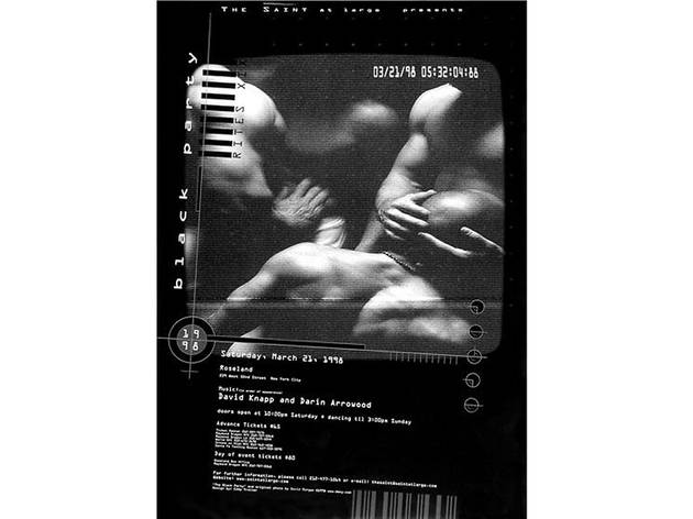 Black Party Poster, 1998