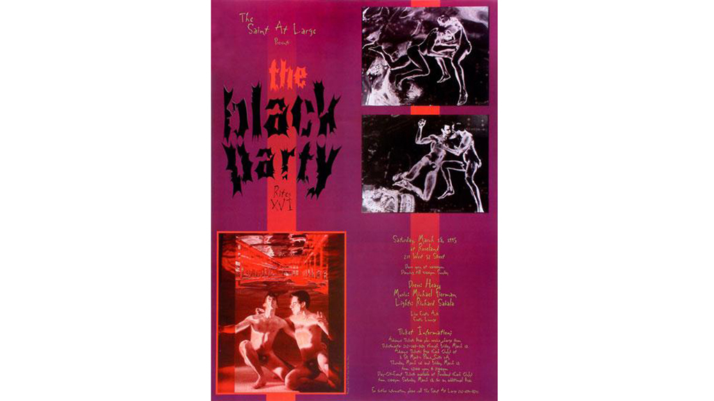 Black Party Poster, 1995