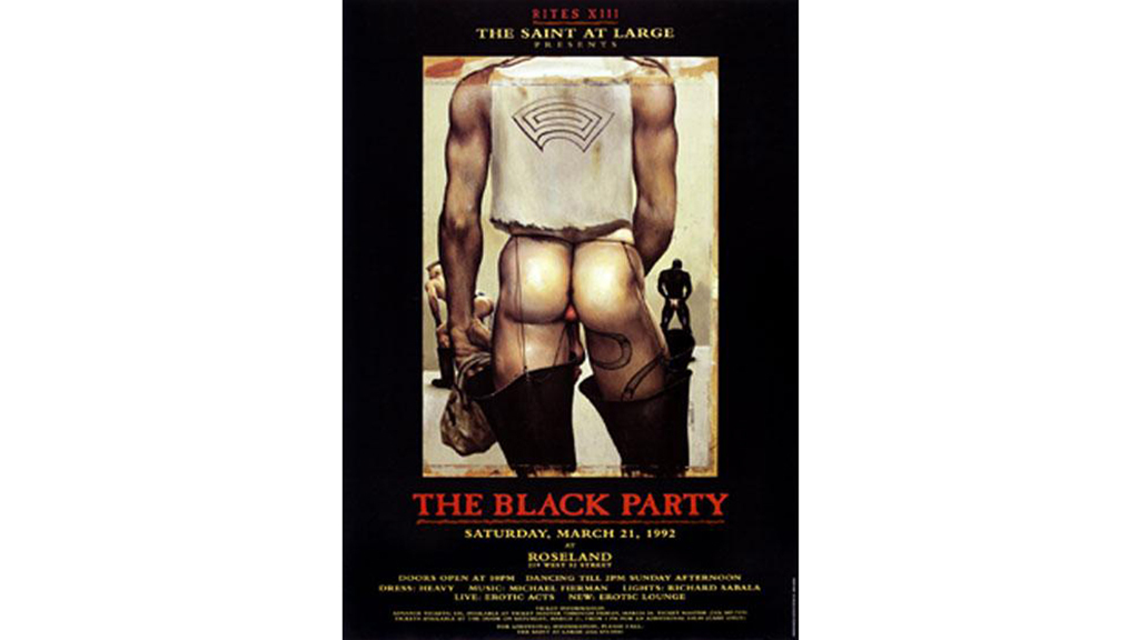 Black Party Poster, 1992