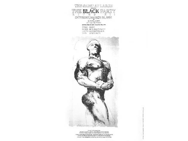 Black Party Poster, 1991
