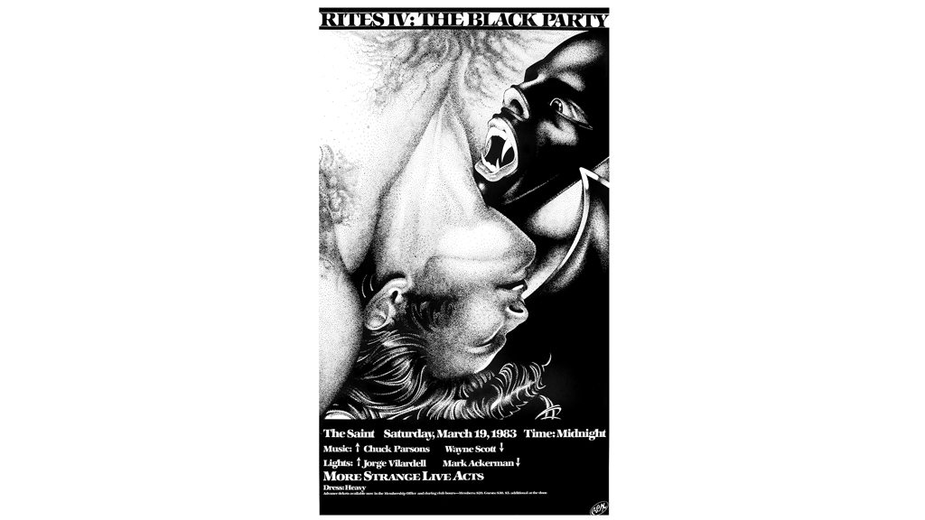 Black Party Poster, 1983