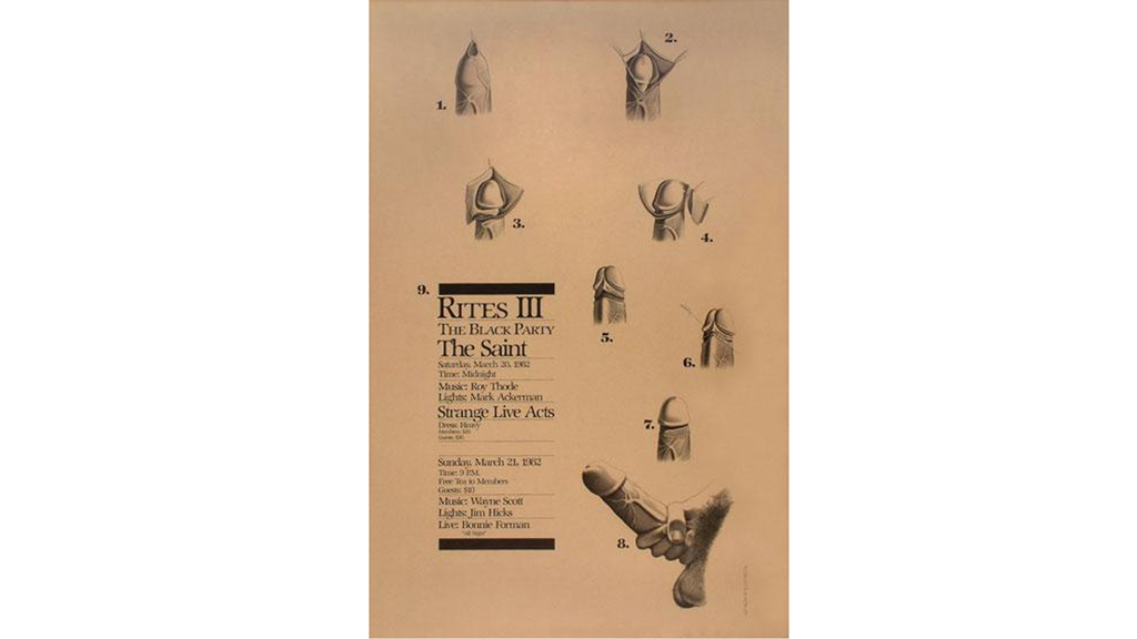 Black Party Poster, 1982