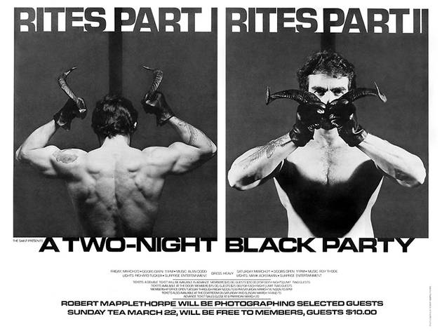 Black Party Poster, 1981