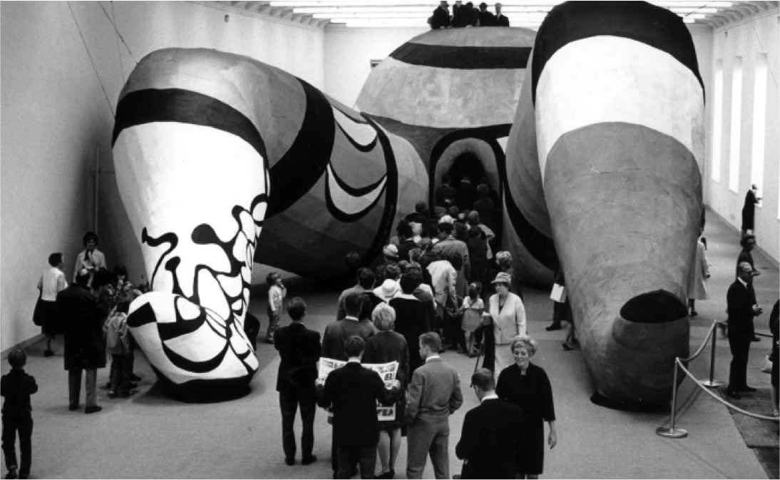 Niki de Saint Phalle - leaderbox / Sexe féminin dans l'art