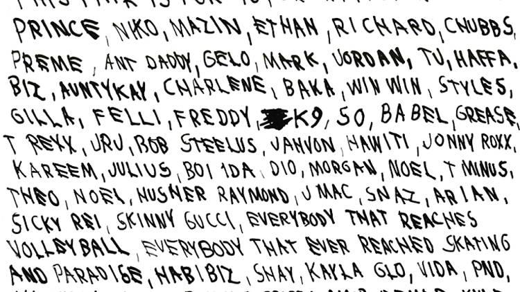 Drake thank-you
