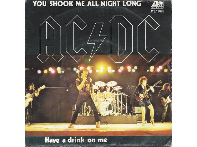 ac/dc, you shook me all night long, karaoke