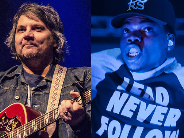 Pitchfork 2015 day by day lineup