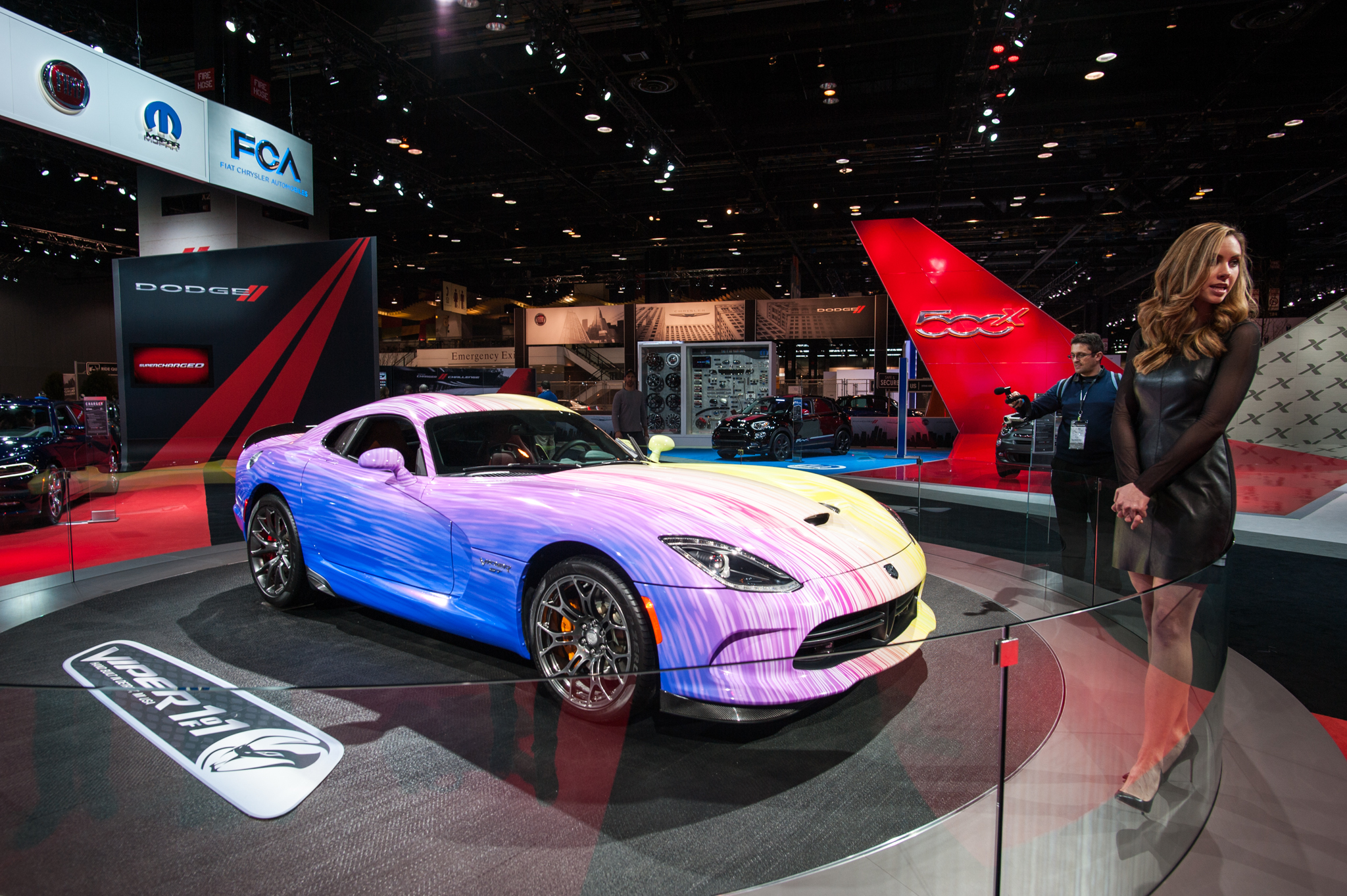 Cars, concepts and gearheads filled McCormick Place for the annual Chicago Auto Show, February 12, 2015.
