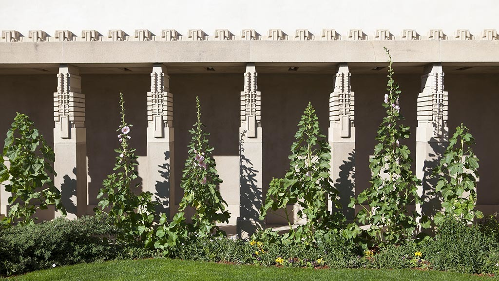 Frank Lloyd Wright's Hollyhock House at Barnsdall Art Park