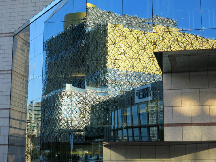 Reflection of the Library of Birmingham