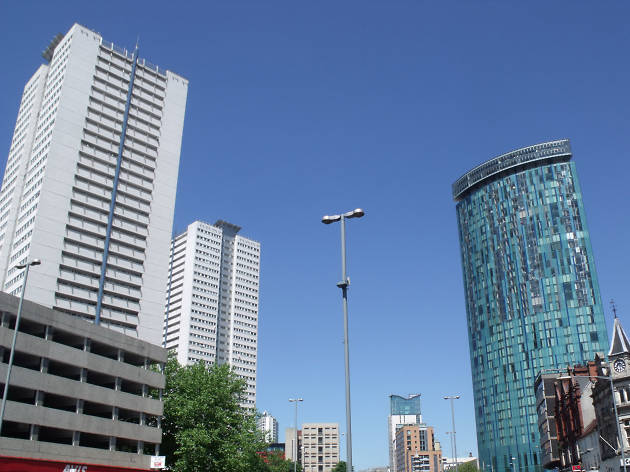 Photo of The Sentinels and the Beetham Tower, 10 Holloway Circus in Birmingham