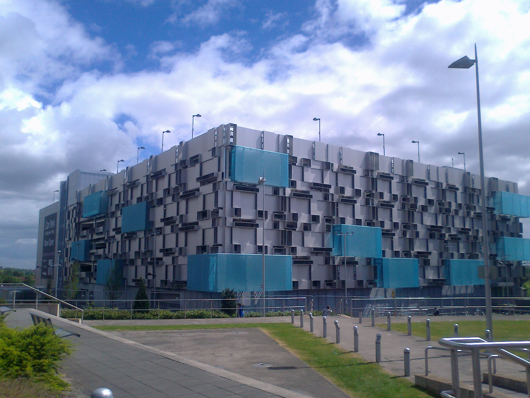 Photo of Millennium Point Car Park in Birmingham