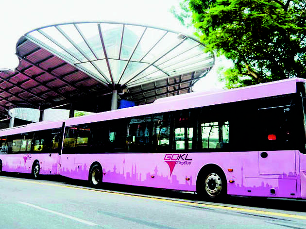 Travel around KL and PJ for free