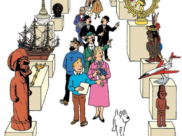 Faire le tour du monde •Le Musée imaginaire de Tintin